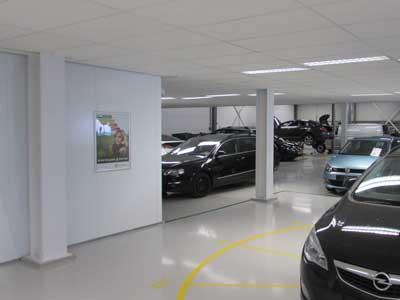 Showroom Workshop floor