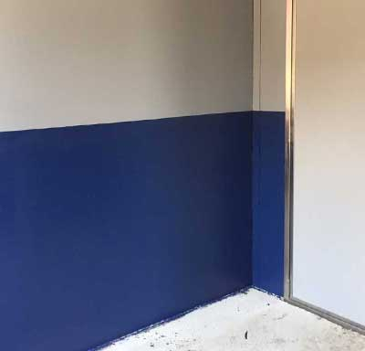 Acrylic wall coating in the hospitality industry