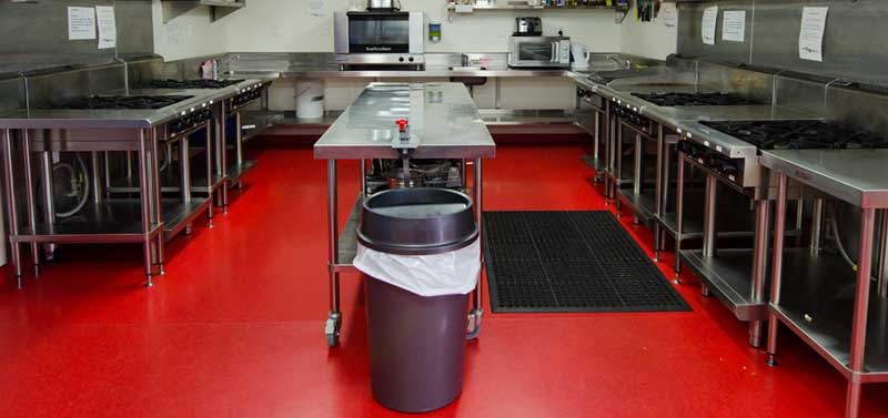 Coatings for professional kitchens
