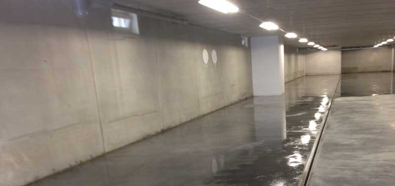 Coating systems for car parks