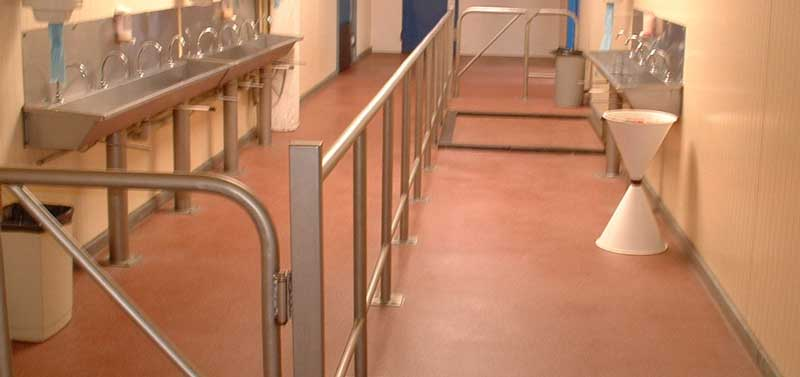 Coatings for sanitary areas