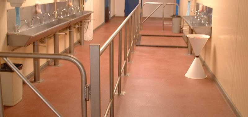 coatings voor de sanitaire ruimtes