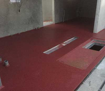 Trowel floor for the agricultural sector