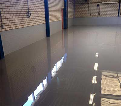 epoxy coating car garage