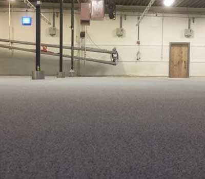 synthetic warehouse floor