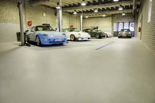 Werkvloer coating voor minder ongelukken