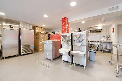 HACCP Boden Eisdiele