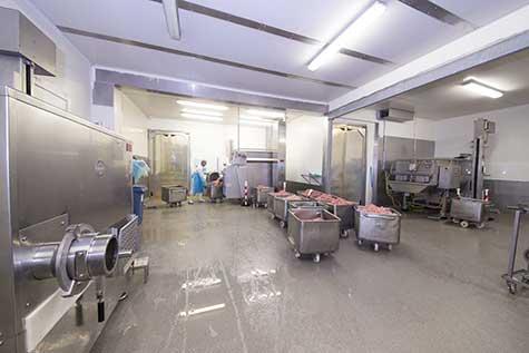 Fleischverarbeitung HACCP Boden
