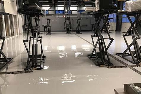 garage vloer