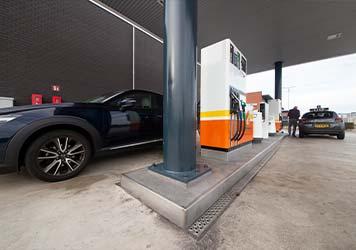 Benzine station
