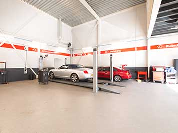 Coatingvloer voor automotive en industrie