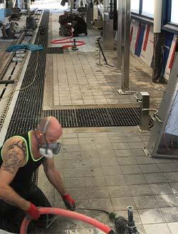 voorbereiding vloercoating