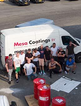 mesa coatings team