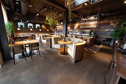 Horecavloer duurzaam restaurant