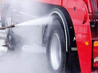 Lavado de camiones