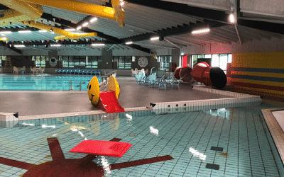 Zwembadvloer veilig genoeg