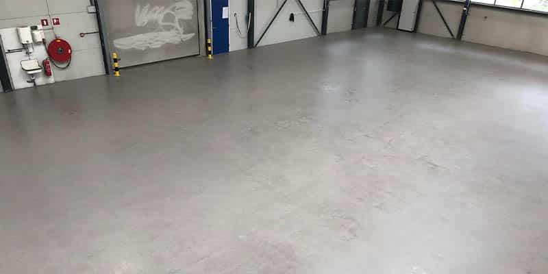 Magazijnvloer coating