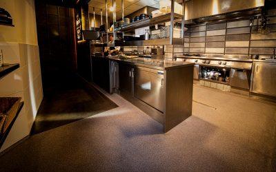 Een hygiënische horeca keukenvloer
