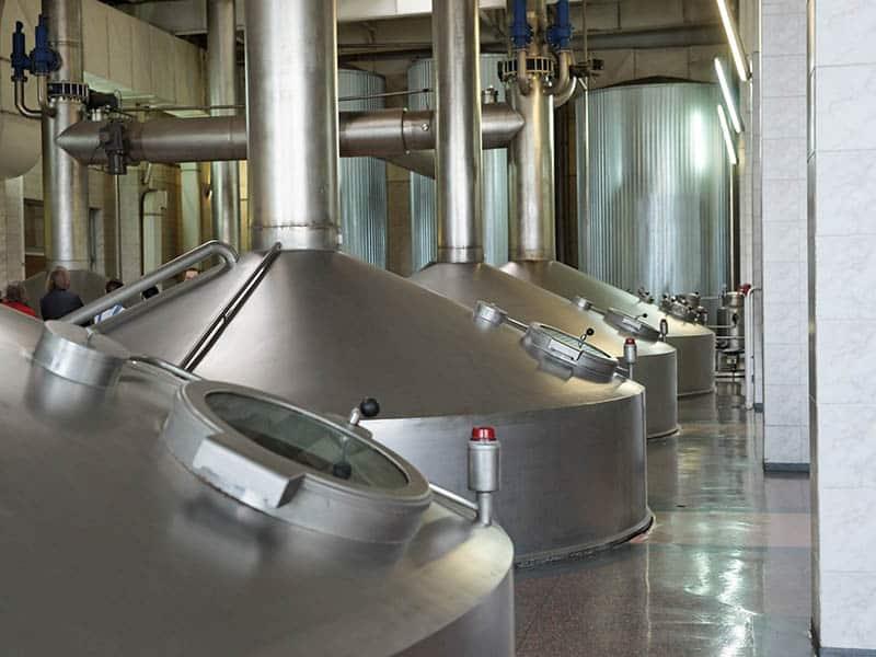 geschikte vloer voor de bierbrouwerij hygiënisch