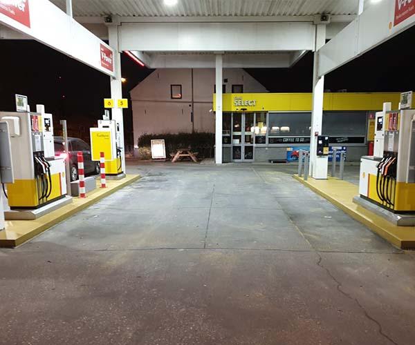Tankstations pompeiland