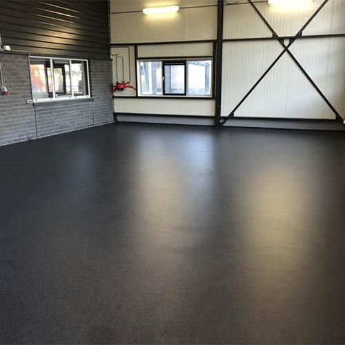 Coating floor for the kitchen