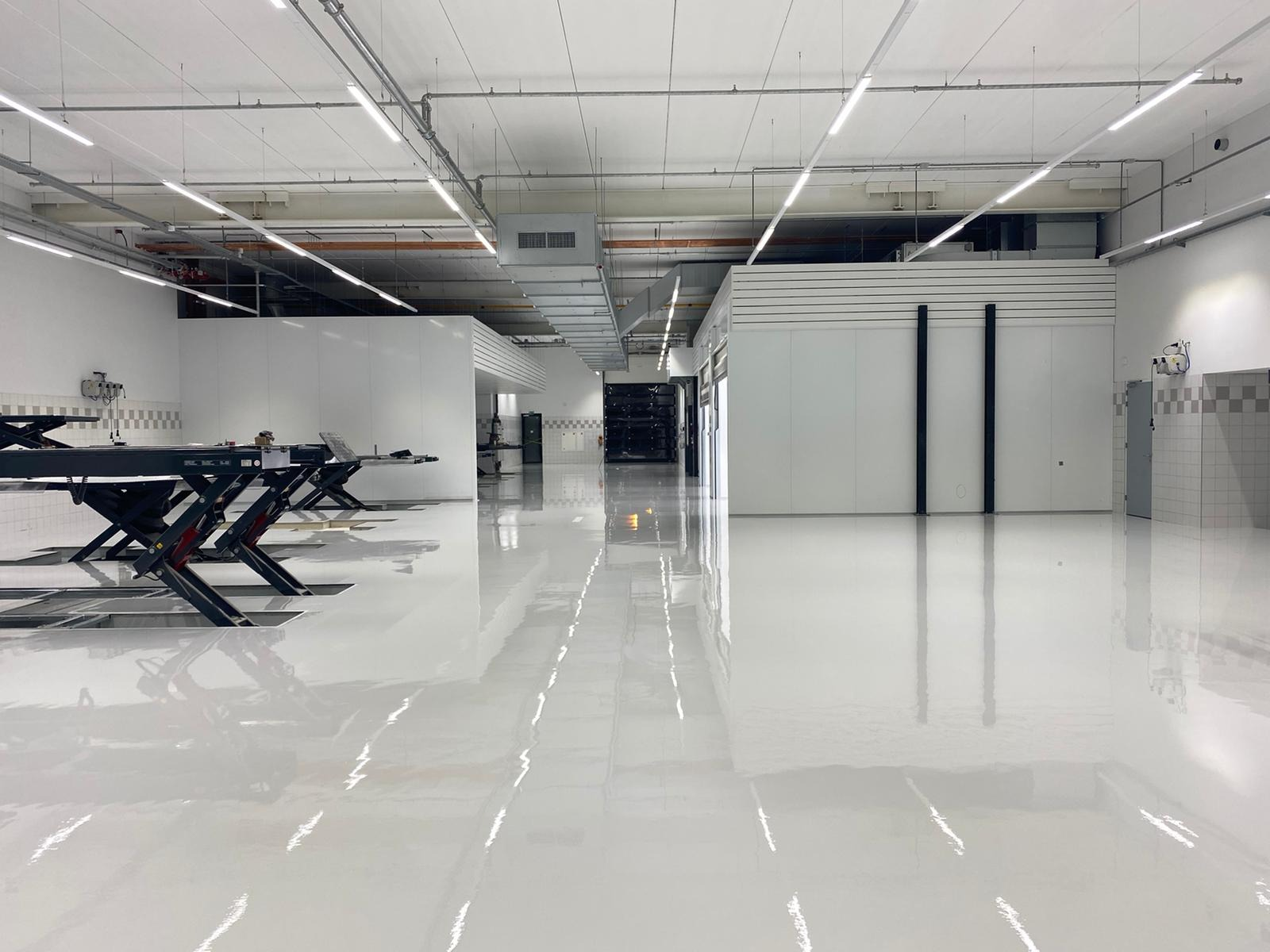 Casting floor agricultural sector