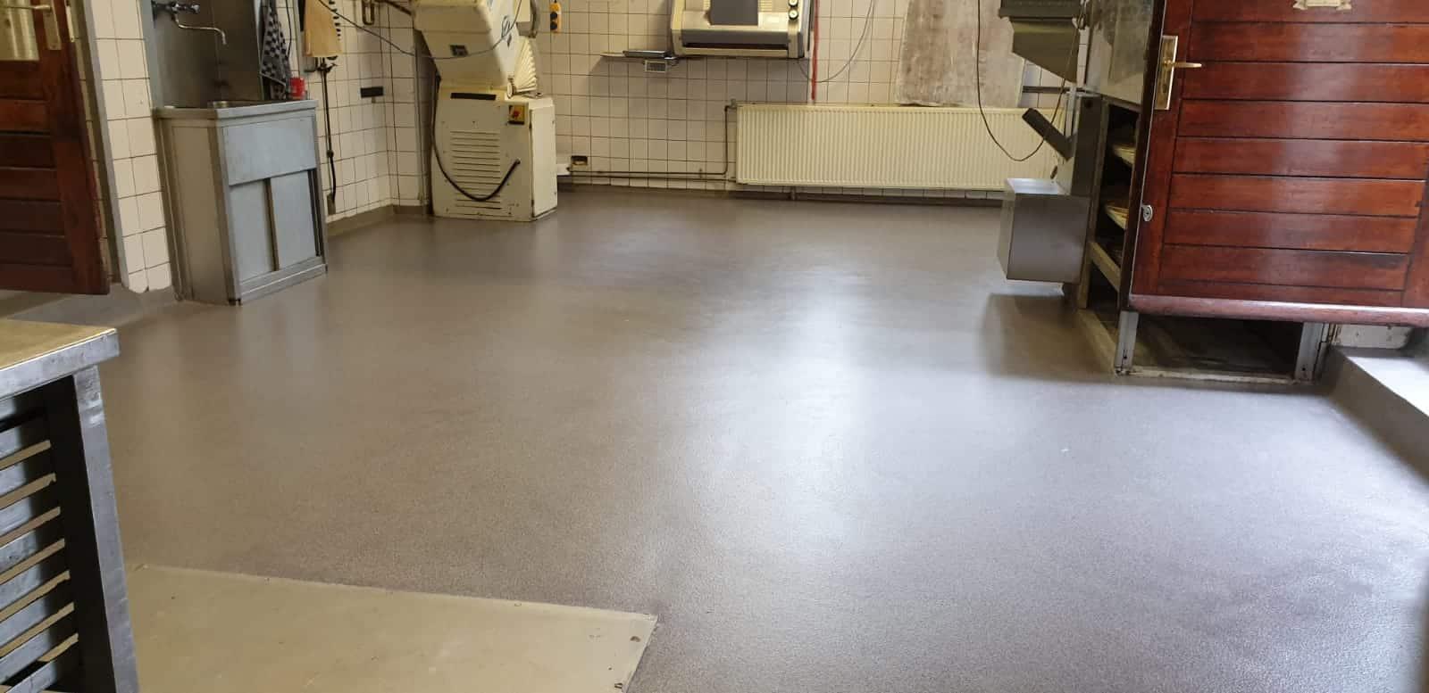 food sector coating floor
